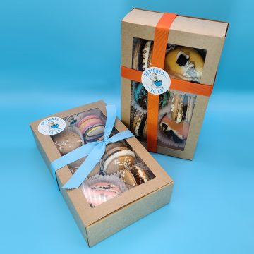 Boxed Macarons