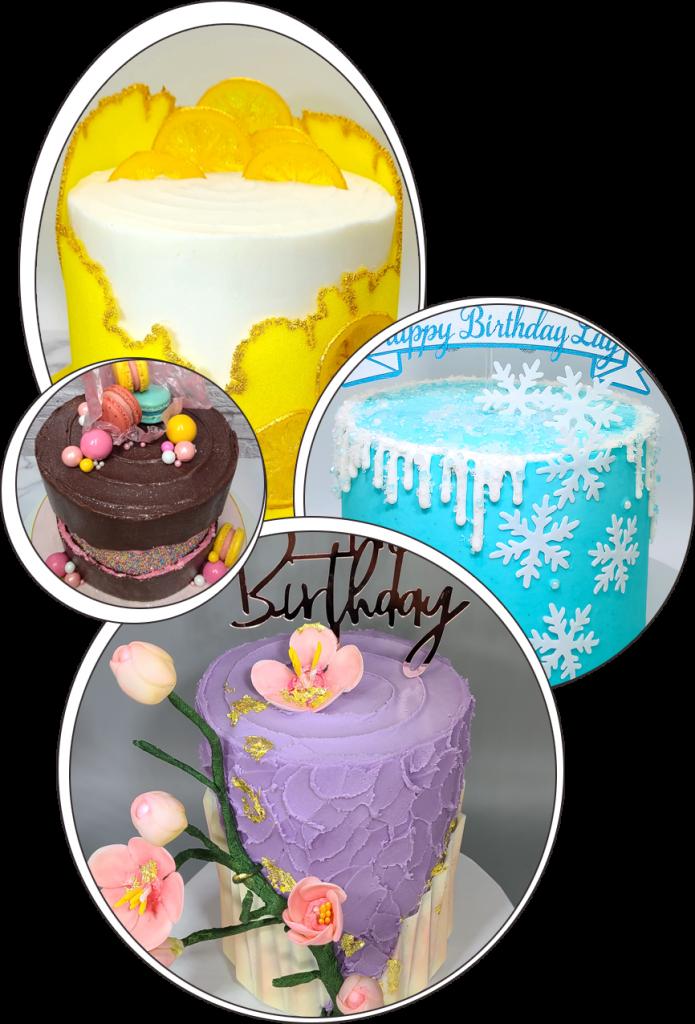 Custom Decor Cakes